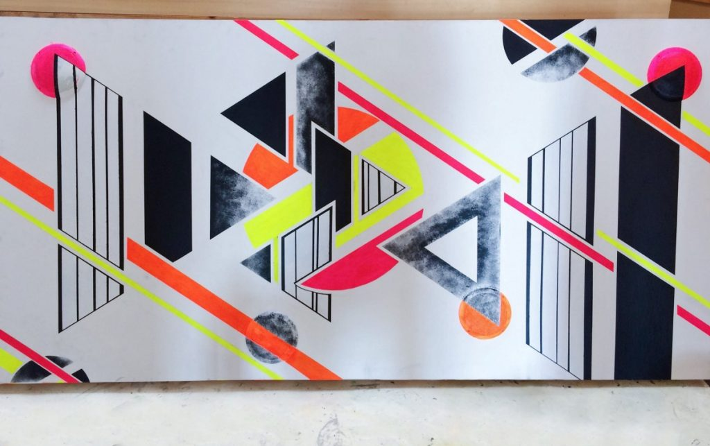 Interactive mural Design and painting by Kat Lam-SoundSnap