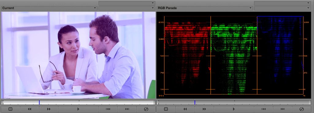 Avid Media Color Correction