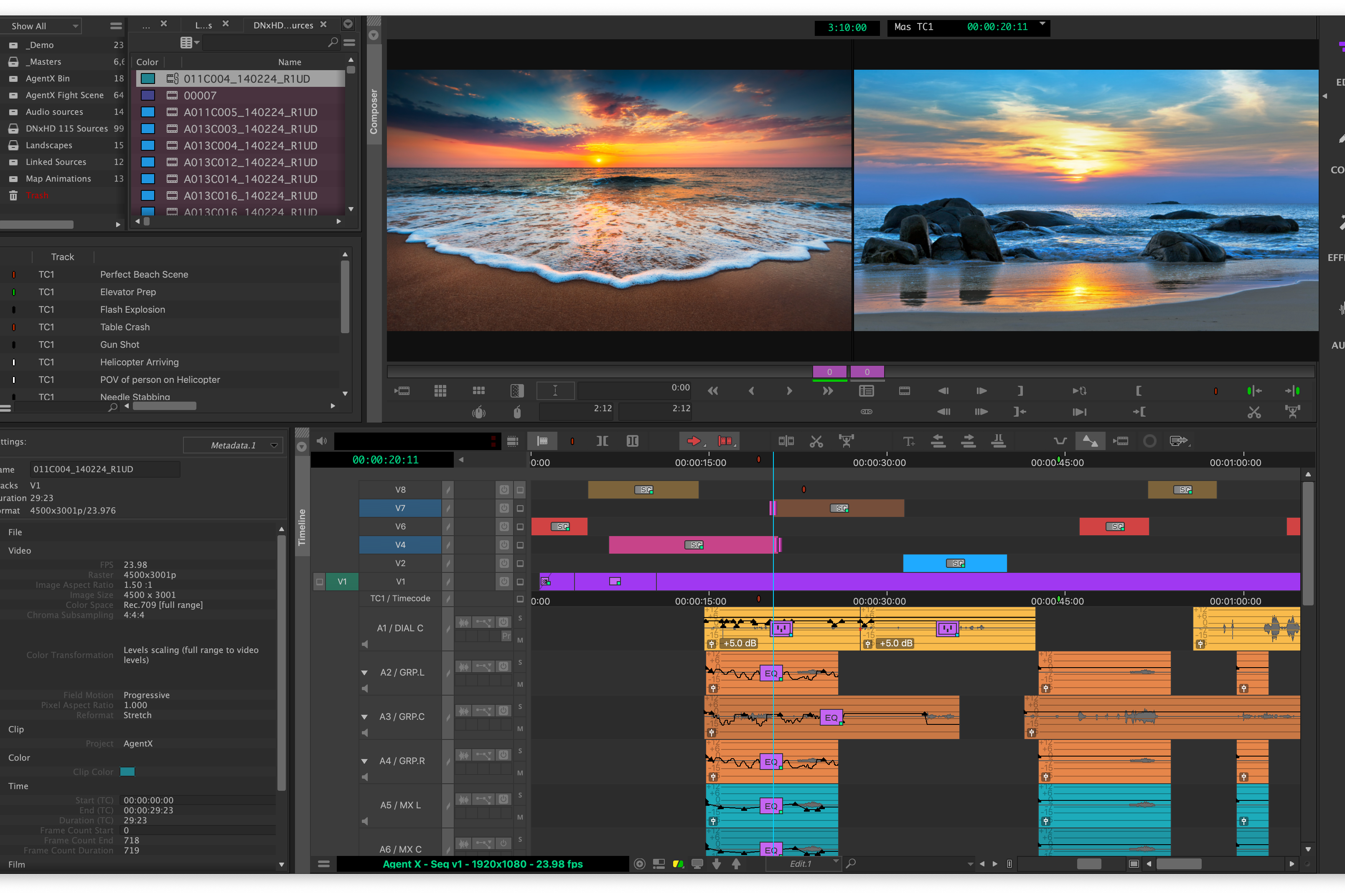 Media Composer Editing Workflow