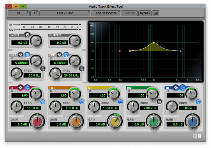 audio track effect tools - avid