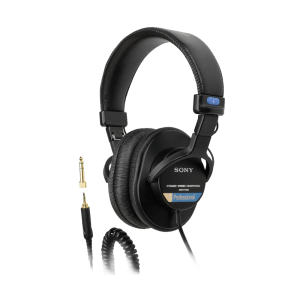 3 - Headphones - Sony MDR-7506